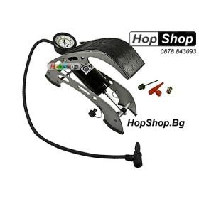Помпа за гуми - крачна К1 от HopShop.Bg.