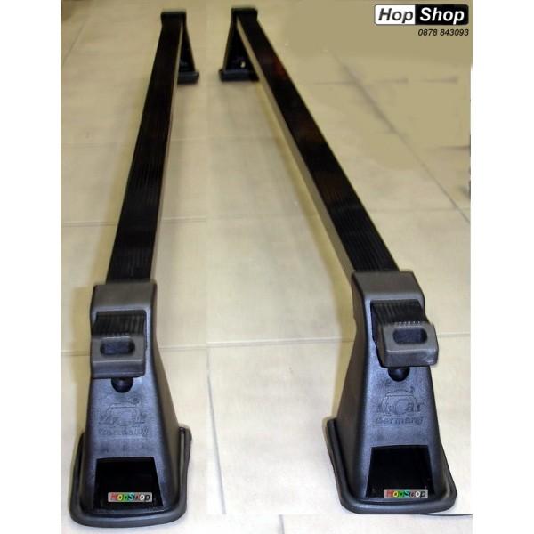 Багажник кола за таван - ( 122см греди ) - напречен тип лапа от категория БАГАЖНИЦИ