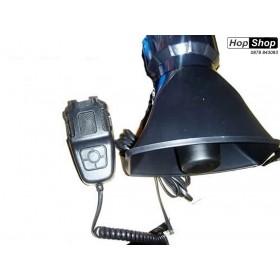 Полицейска сирена тип гарга ( мегафон ,високоговорител) от HopShop.Bg.