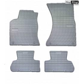 Гумени стелки Ауди Q5 (2009+) сиви от HopShop.Bg.