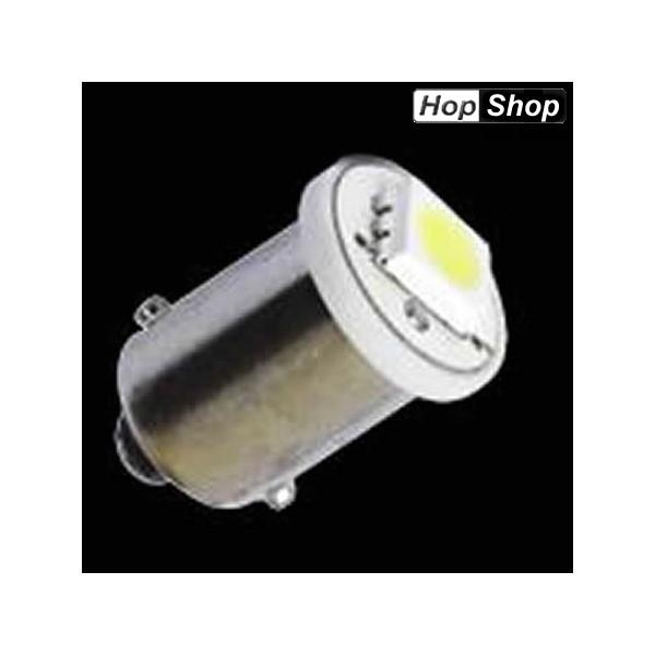 Диодна крушка BA9 1 SMD led със цокъл бяла - 2 броя от категория ДИОДНИ КРУШКИ,КРУШКИ