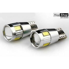 Диодни крушки тип Т10 5W с 5 SMD диода - CANBUS - 2 броя от HopShop.Bg.