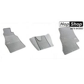 Гумени стелки Мерцедес Спринтер (1996-2006) / VW LT (2000-2006) сиви от HopShop.Bg.