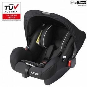 Бебешко столче за кола с дръжка Junior - Bambini - черен цвят от HopShop.Bg.