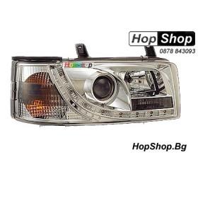 Фарове диодни ( LED ) за VW Transporter T4 (91-03)  - бели от HopShop.Bg.