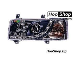 Фарове диодни ( LED ) за VW Transporter T4 (91-03) черни от HopShop.Bg.