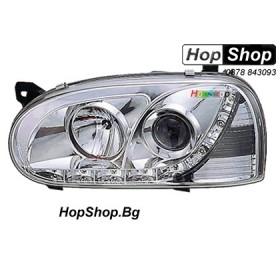 Фарове (Daylights) за VW Golf 3 (92-97) - бели от HopShop.Bg.