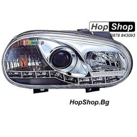 Фарове (Daylights) за VW Golf 4 (98-02) - бели от HopShop.Bg.