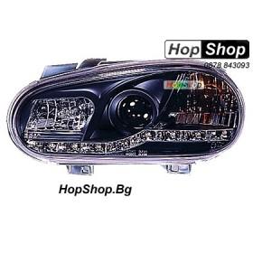 Фарове (Daylights) за VW Golf 4 (98-02) - черни от HopShop.Bg.