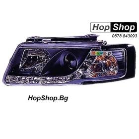 Фарове (Daylights) за VW Passat (1997-2000) - черни от HopShop.Bg.