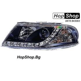 Фарове (Daylights) за VW Passat (2001-2005) - черни от HopShop.Bg.