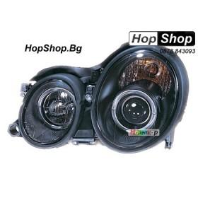 Фарове за Mercedes CLK (98-03) - черни от HopShop.Bg.