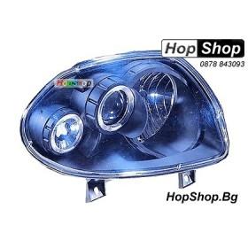 Фарове за Reno Clio (98-00) - черни от HopShop.Bg.