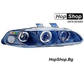 Фарове за Honda Civic 4D (92-95) - черни от HopShop.Bg.