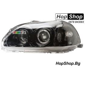 Фарове за Honda Civic 4D (96-98) - черни от HopShop.Bg.