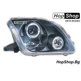 Фарове за Honda Prelude (96-98) - черни P1 от HopShop.Bg.