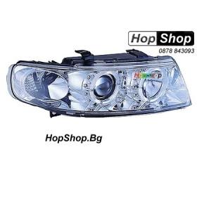 Фарове за Seat Leon (99-05) - бели от HopShop.Bg.