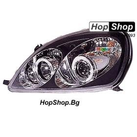 Фарове за Toyota Yaris (98-05) - черни от HopShop.Bg.