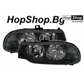 Кристални фарове Алфа ромео 156 (97-03) - черни от HopShop.Bg.