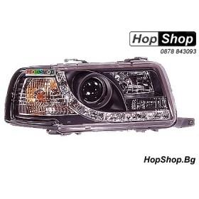 Фарове за Audi 80 ( B4 ) (91-95) - черен от HopShop.Bg.