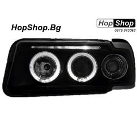 Кристални фарове Angel Eyes AUDI 80 (91-94) - черен от HopShop.Bg.