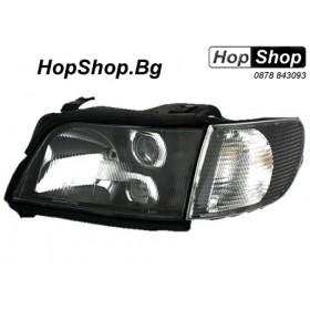 Кристални фарове AUDI 100 C4 (90-94) - черни от HopShop.Bg.