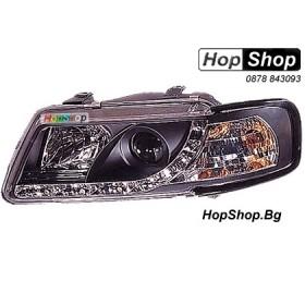 Фарове диодни ( LED ) за Audi A3 (96-00) - черни от HopShop.Bg.