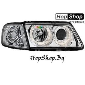Фарове за Audi A3 с отделен мигач (96-00) - бял от HopShop.Bg.