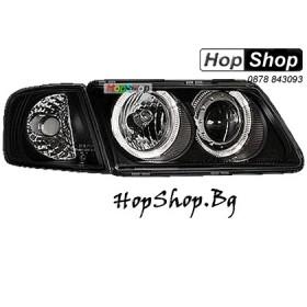 Фарове за Audi A3 с отделен мигач (96-00) - черен от HopShop.Bg.