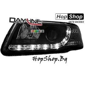 Фарове за Audi A3 (96-00) Dayline - черни от HopShop.Bg.