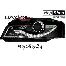 Фарове за Audi A3 (03-08) Dayline - черни от HopShop.Bg.