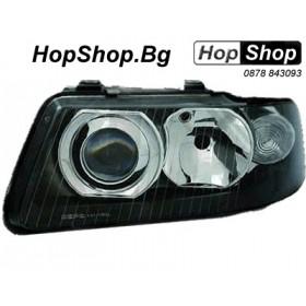 Кристални фарове AUDI A3 (00-03) - черни от HopShop.Bg.
