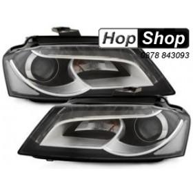 Кристални фарове за Ауди А3 (2008-2012) - черни от HopShop.Bg.