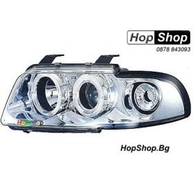 Фарове за Audi A4 (95-00) - бял от HopShop.Bg.