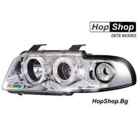 Фарове за Audi A4 (99-00) - бял от HopShop.Bg.
