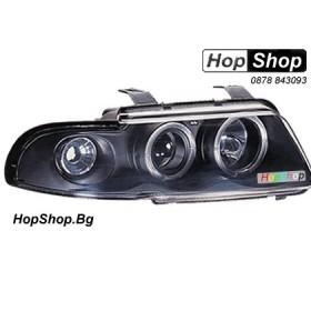 Фарове за Audi A4 (99-00) - черни от HopShop.Bg.