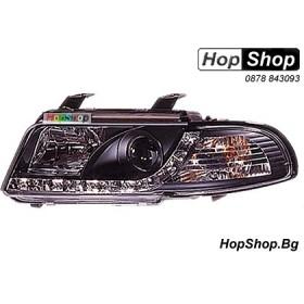 Фарове диодни ( LED ) за Audi A4 (95-98) - черен от HopShop.Bg.