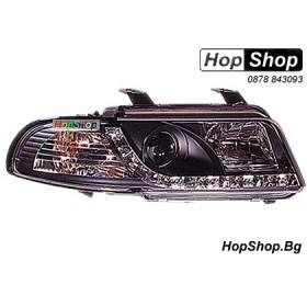 Фарове диодни ( LED ) за Audi A4 (99-01) - черен от HopShop.Bg.
