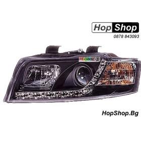 Фарове диодни ( LED ) за Audi A4 (01-04) - черен от HopShop.Bg.