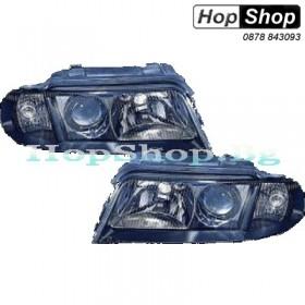 Фарове за Audi A4 (99-01) - черни (h7) от HopShop.Bg.