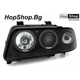 Кристални фарове за AUDI A4 (95-98)  черен от HopShop.Bg.