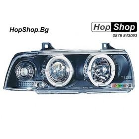 Фарове за BMW E36 (92-98) 4 вр. - черен от HopShop.Bg.