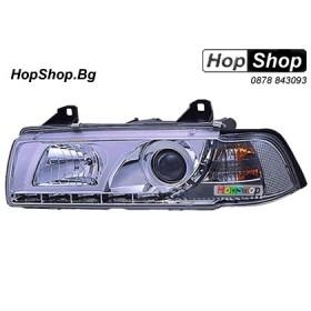 Фарове диодни ( LED ) за BMW E36 (92-98) 2 врати -  бял от HopShop.Bg.