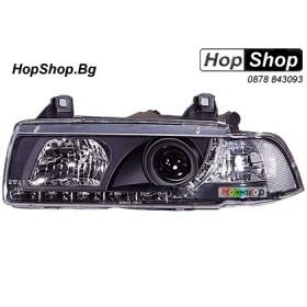 Фарове диодни ( LED ) за BMW E36 (92-98) 2 врати - черен от HopShop.Bg.