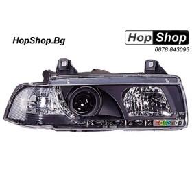 Фарове диодни ( LED ) за BMW E36 (92-98) 4 врати - черен от HopShop.Bg.