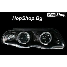 Фарове за BMW E46 4D (98-) - черни от HopShop.Bg.