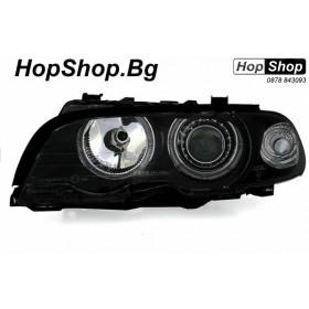 Кристални фарове за БМВ E46 купе и кабрио (99-03) - черен от HopShop.Bg.