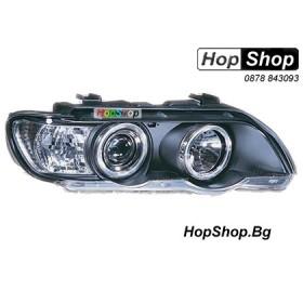 Фарове за BMW X5 (00-05) - черен от HopShop.Bg.
