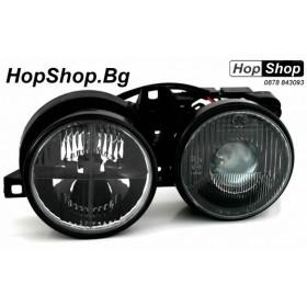 Кристални фарове за БМВ Е30 (87-91) - черни от HopShop.Bg.