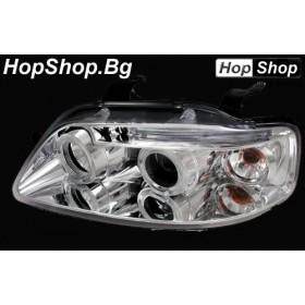 Кристални фарове Chevrolet Aveo (2003-2006) хром от HopShop.Bg.